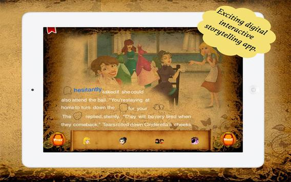 Cinderella Sticker Book apk screenshot