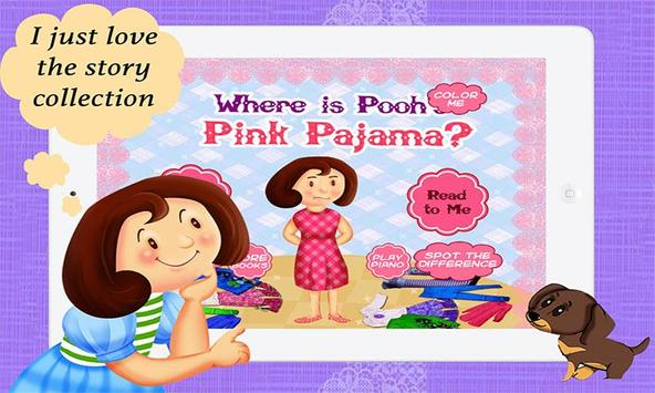 Where is Pooh's Pink Pajama? poster