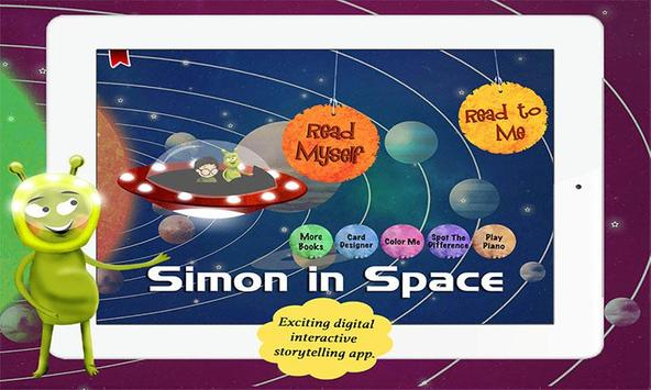 Simon in Space poster