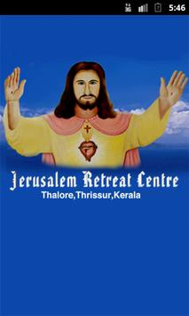 Jerusalem Retreat Centre poster