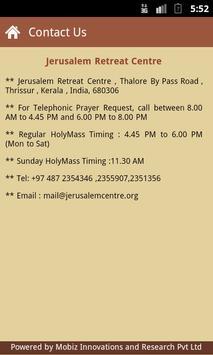 Jerusalem Retreat Centre apk screenshot