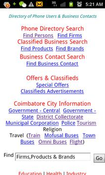 Celfon Directory apk screenshot