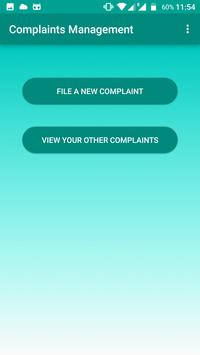 IITD Complaints Management apk screenshot