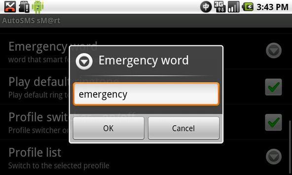 AutoSMS  (AutoReply) Smart apk screenshot