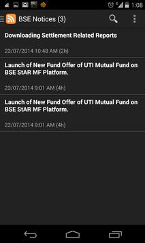 Bombay Stock Exchange News apk screenshot