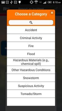 Report Hazards Indiana apk screenshot