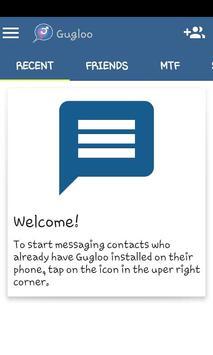 Gugloo Messenger apk screenshot