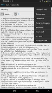 Danish Bible apk screenshot