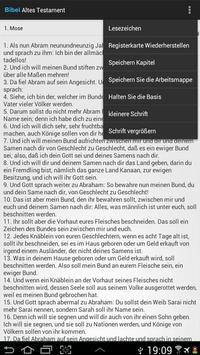 The Holy Bible in German apk screenshot