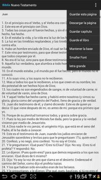 The Holy Bible in Spanish apk screenshot