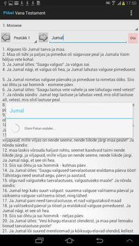 Estonian Bible apk screenshot