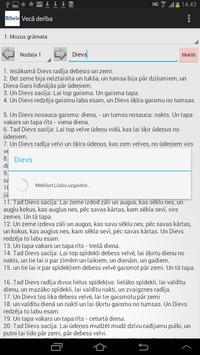 Latvian Bible apk screenshot