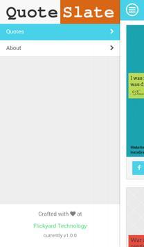 QuoteSlate apk screenshot