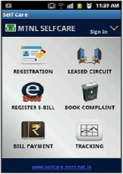 MTNL Mumbai Selfcare poster