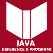 Java Reference and Programs icon