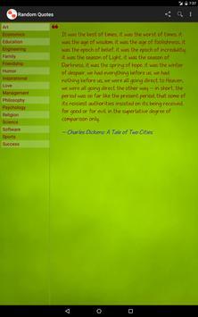 Random Quotes apk screenshot