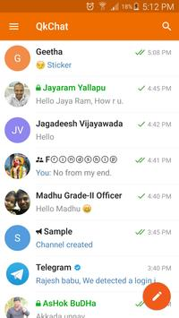 QkChat apk screenshot