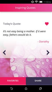 Daily Quotes for Mothers poster