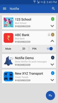 Notifie apk screenshot