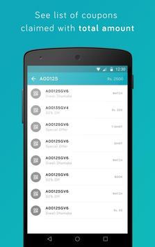 APAR Couponz apk screenshot
