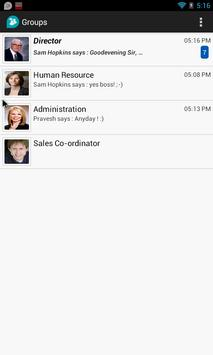 Enterprise Chat apk screenshot