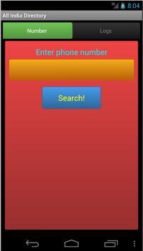 All India Directory apk screenshot