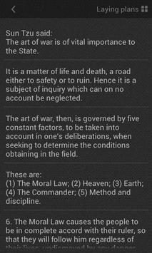 Art of War - Appbook Edition apk screenshot