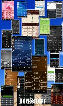 RocketDial Wood Theme apk screenshot