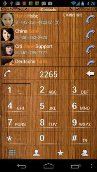 RocketDial Wood Theme poster