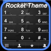 RocketDial Map Black Theme icon