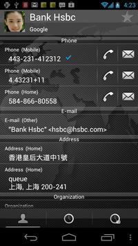 RocketDial Map Black Theme apk screenshot