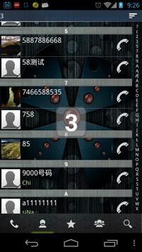 RocketDial Theme Nuclear apk screenshot