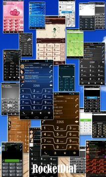 RocketDial UKR Black Theme apk screenshot