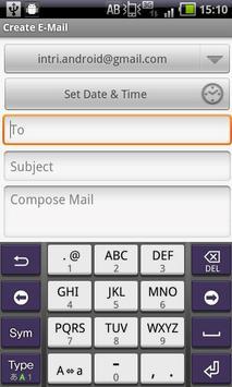 Timer Gmail Free apk screenshot