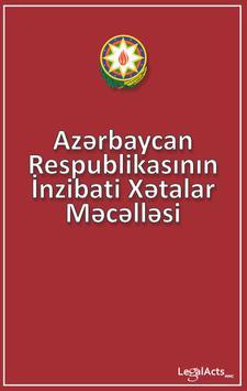 AR İnzibati Xətalar Məc 2016 poster