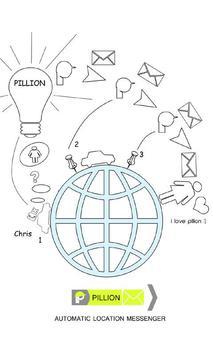 Pillion - ETA app poster