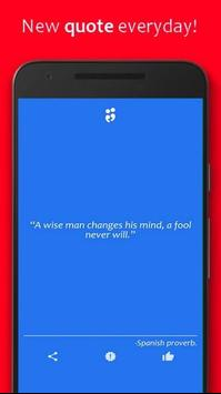 Change Quotes' ( Daily ) poster