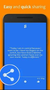 Change Quotes' ( Daily ) apk screenshot