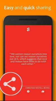 Love Quotes' ( Daily ) apk screenshot
