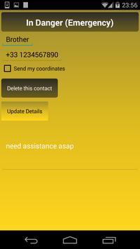 In Danger (Emergency Button) apk screenshot