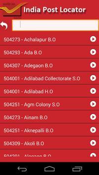 India Post PIN Code Search apk screenshot