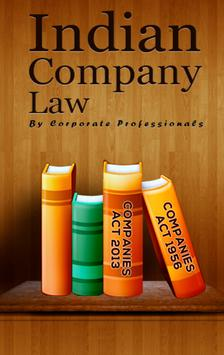 Indian Company Law poster