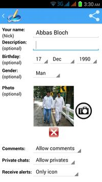Indian Chat Rooms apk screenshot