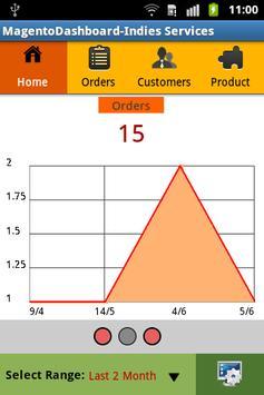Magento Store Dashboard apk screenshot