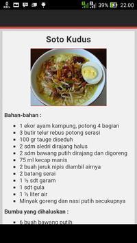 Masakan Jawa Tengah apk screenshot