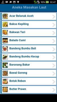 Aneka Masakan Laut apk screenshot