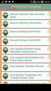 Doa Harian Lengkap poster