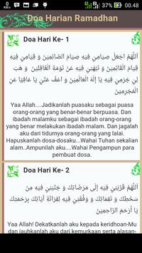 Doa Harian Ramadhan poster