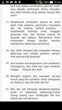 Kata Mutiara Cinta apk screenshot