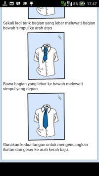 Tips Memakai Dasi apk screenshot